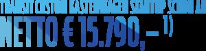 Text: Transit Custom Kastenwagen Startup schon ab netto € 15.790,-