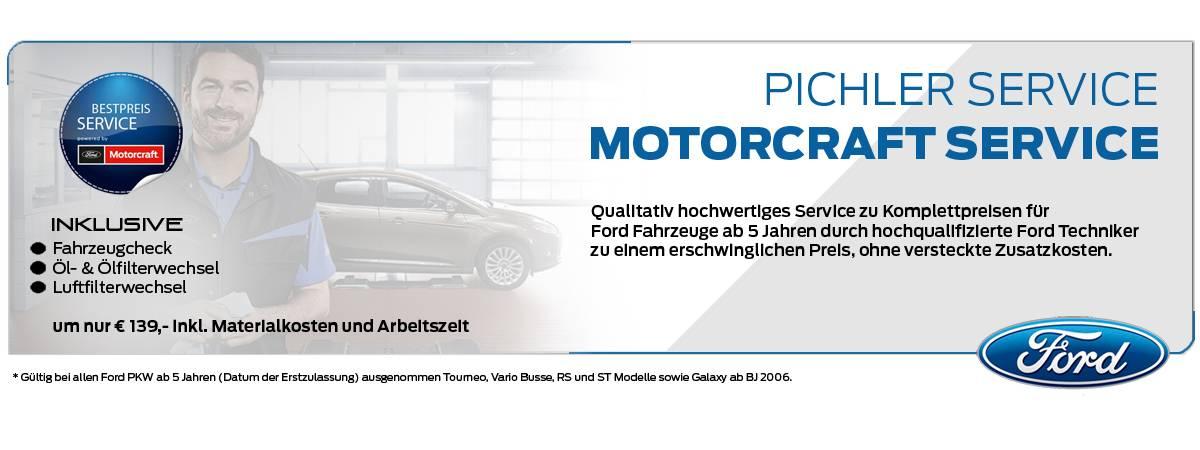 Motorcraft Service bei Auto Pichler GesmbH in Asten (OÖ)