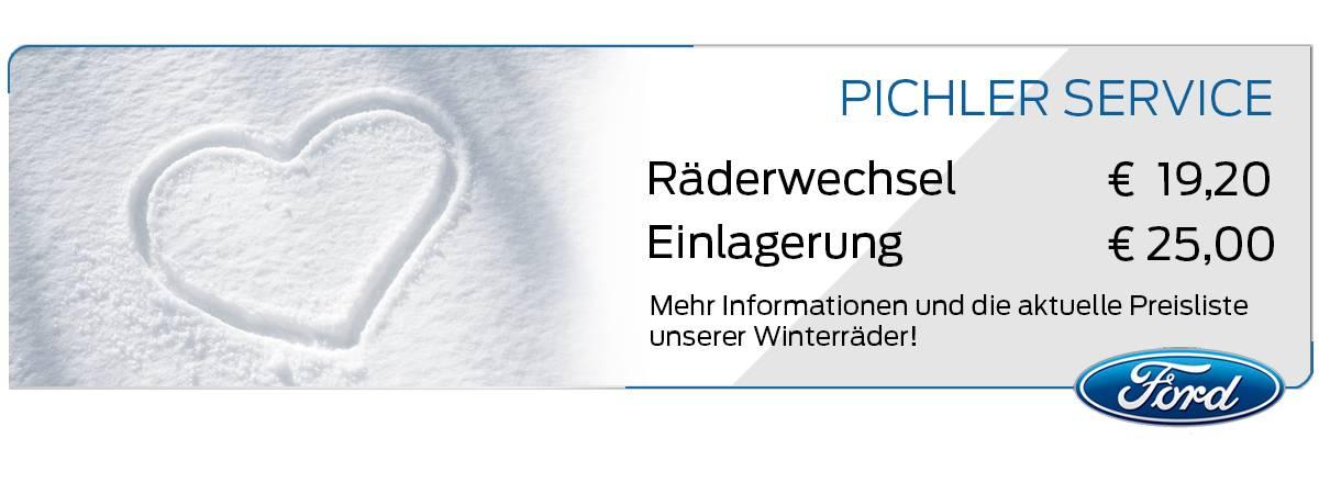 RÄDERWECHSEL UND -EINLAGERUNG bei Auto Pichler GesmbH in Asten (OÖ)
