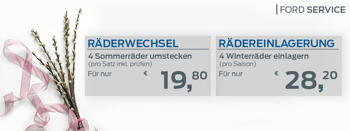 RÄDERWECHSEL UND -EINLAGERUNG bei Auto Pichler GesmbH in Asten