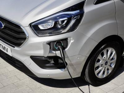Der neue Ford Transit Custom Plug-In Hybrid