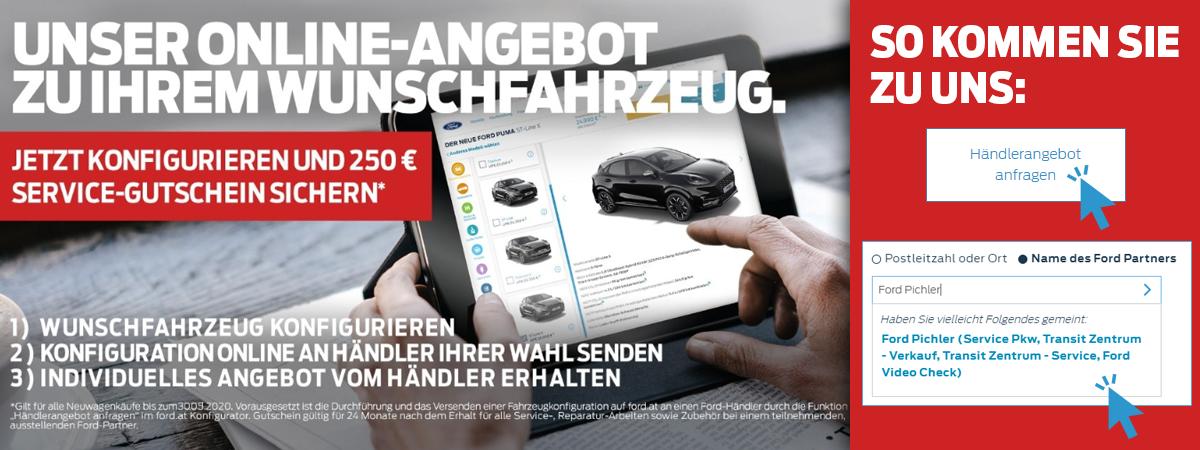 Wunschkonfiguration bei Auto Pichler GesmbH in Asten