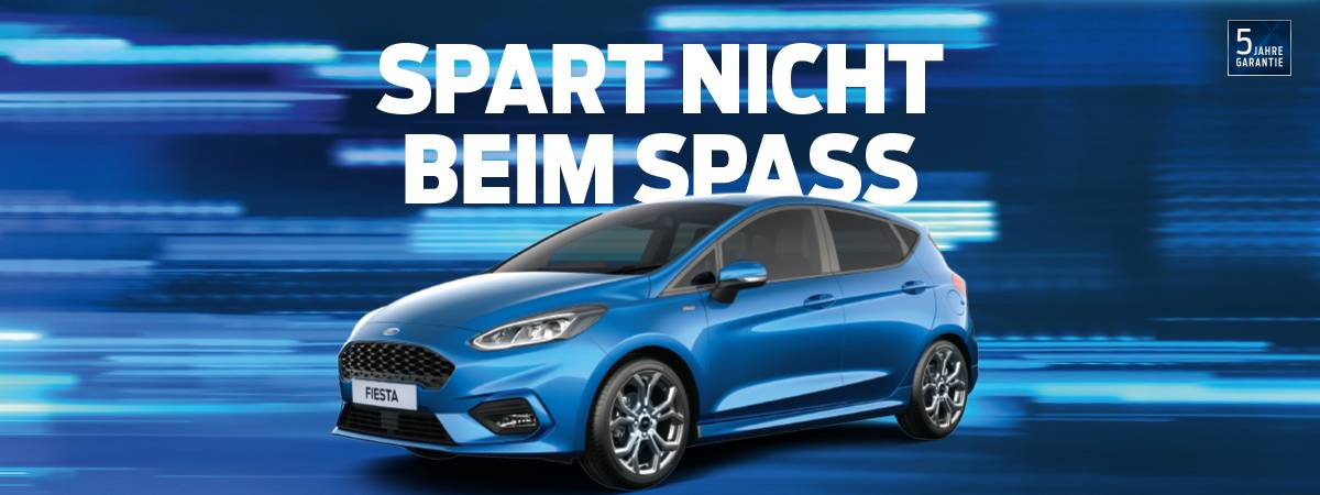 Ford Fiesta Aktion bei Auto Pichler GesmbH in Asten