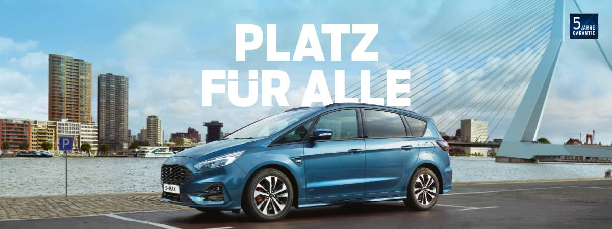 Ford S-Max Aktion bei Auto Pichler GesmbH in Asten