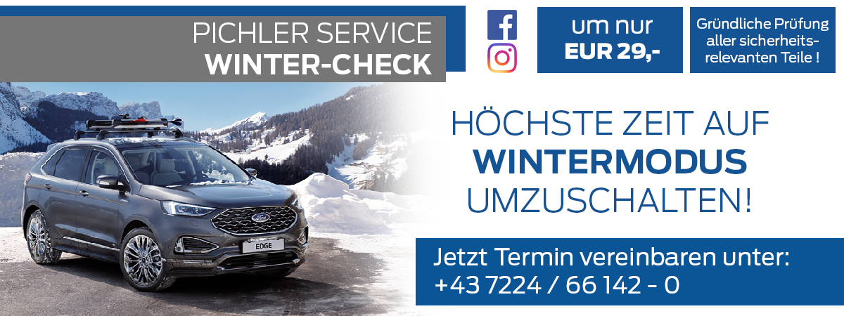 Winter-Check bei Auto Pichler GesmbH in Asten