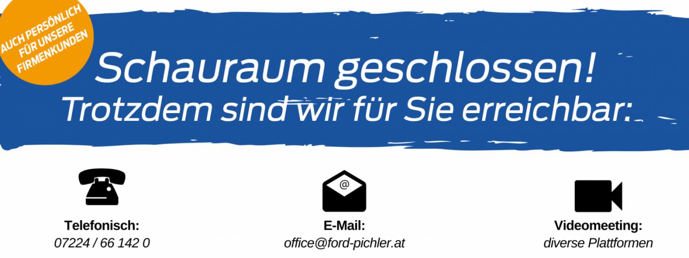 Schauraum geschlossen bei Auto Pichler GesmbH in Asten