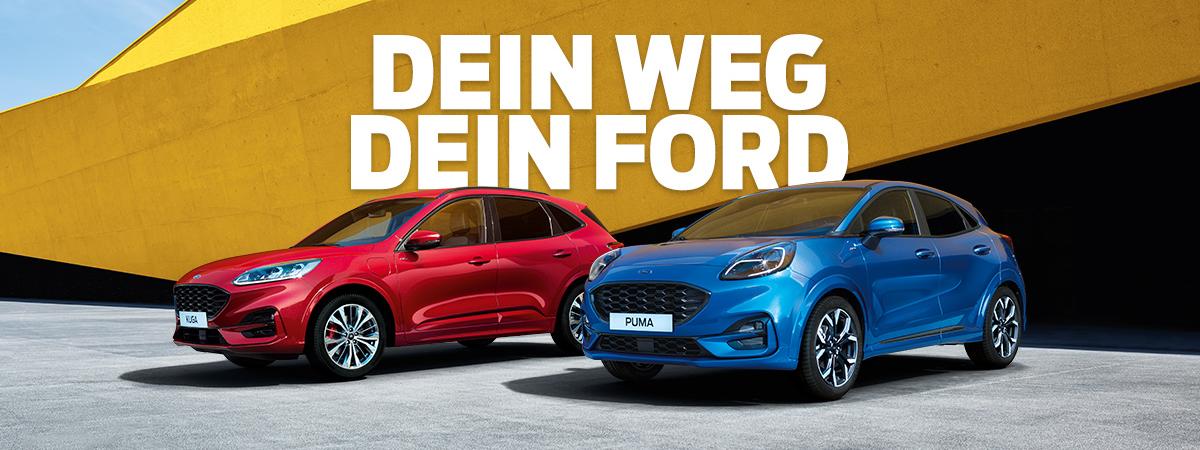 Ford Puma und Ford Kuga bei Auto Pichler GesmbH in Asten